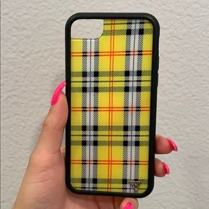 Yellow Plaid IPhone 6/7/8 Phone Case 💛💛💛